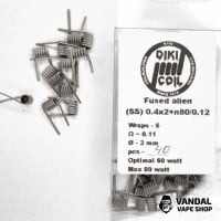 Fused Alien 0.11 Ohm (Ss) 0.4x2+n80/0.12