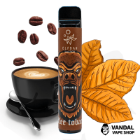 Elf Bar Lux 1500 Disposable Device Coffee Tobacco 850mAh 50 мг